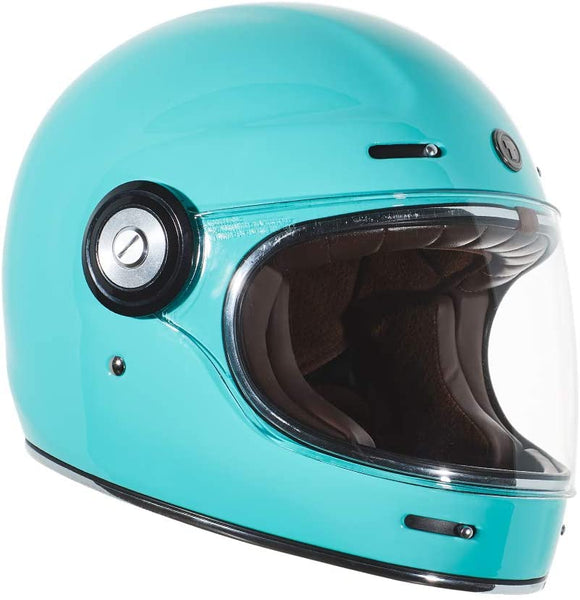 Tiffany Blue Full Face Helmet