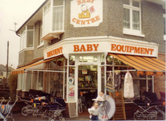 Our First Baby Store in Charminster Road Bournemouth 1981