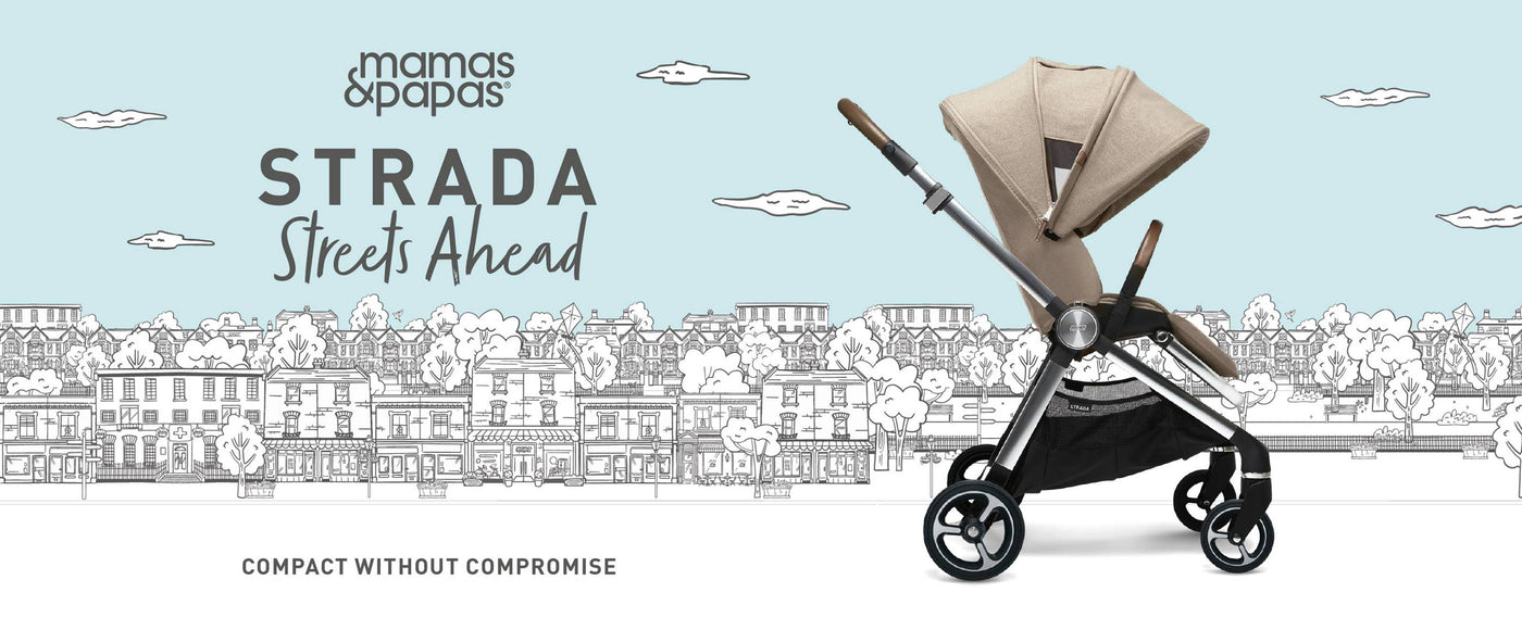 mamas and papas strada pram pushchair collection