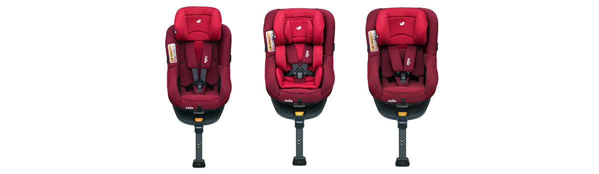 Joie Spin 360 rotating car seat merlot
