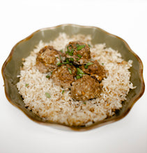 Load image into Gallery viewer, Meatballs & Rice Seasoning Packet & Recipe Card