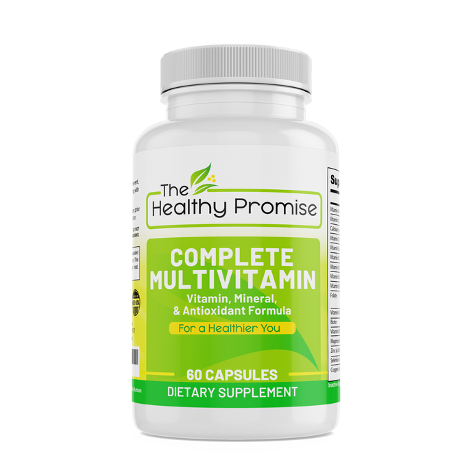 the healthy promise complete multi vitamin dietary supplement front