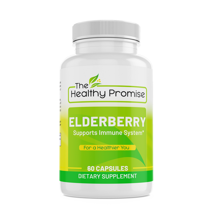 elderberry dietary vitamin supplement healthy