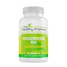 Load image into Gallery viewer, mushroom 10x immune dietary vitamin supplement healthy