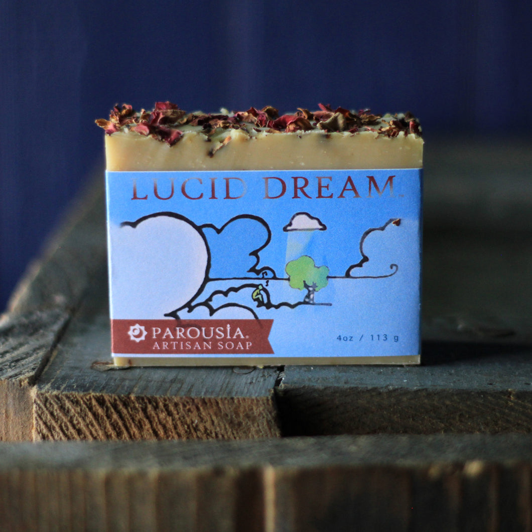 Handcrafted Soap - Olive Oil - Lucid Dream - 3 Pack
