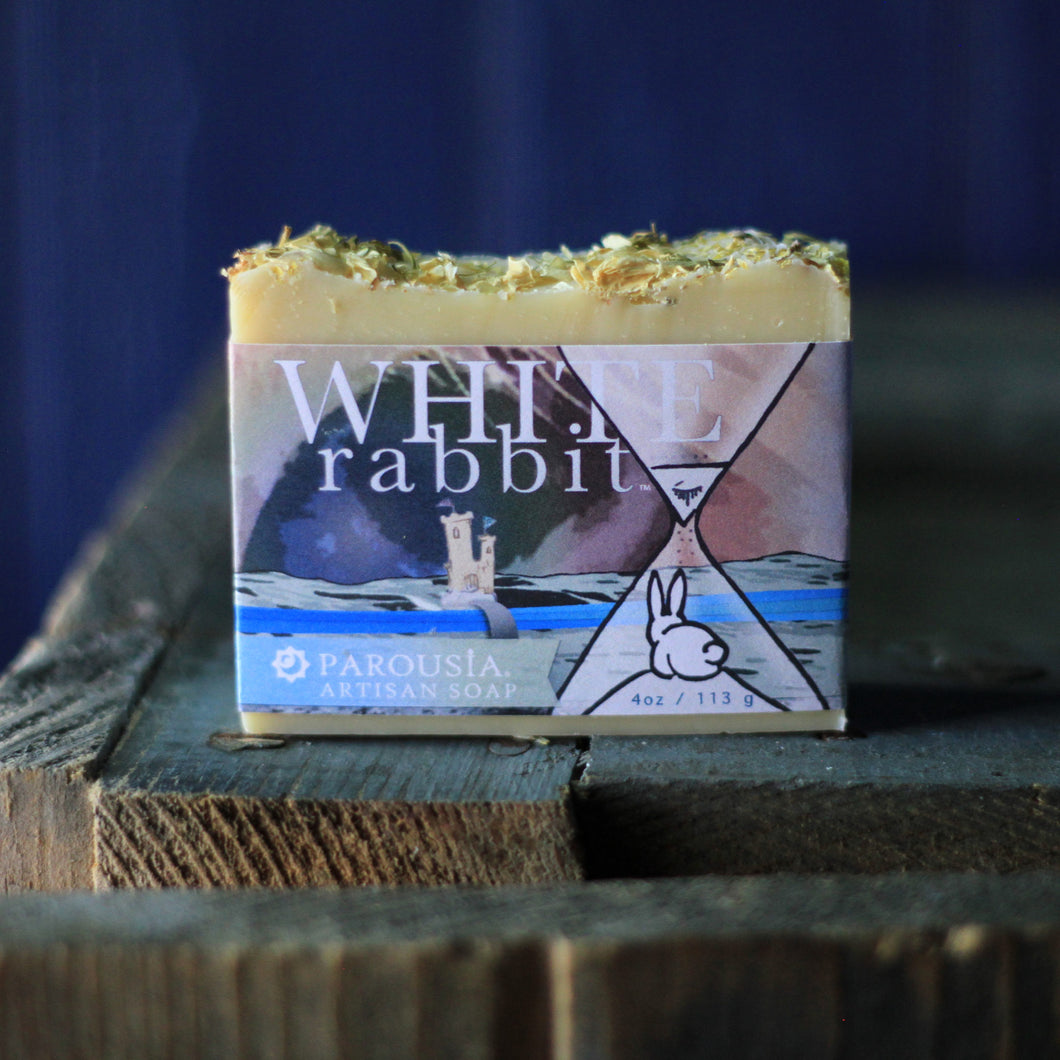 Handcrafted Soap - Olive Oil - White Rabbit - 3 Pack