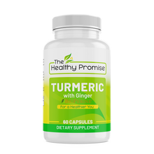 Load image into Gallery viewer, turmeric ginger dietary vitamin supplement healthy