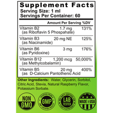 Load image into Gallery viewer, the healthy promise vitamin b 12 dietary supplement facts