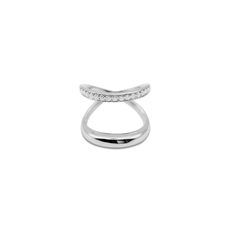 Double String Moissanite Ring リング- GYPPHY/ジプフィーモアサナイトジュエリー