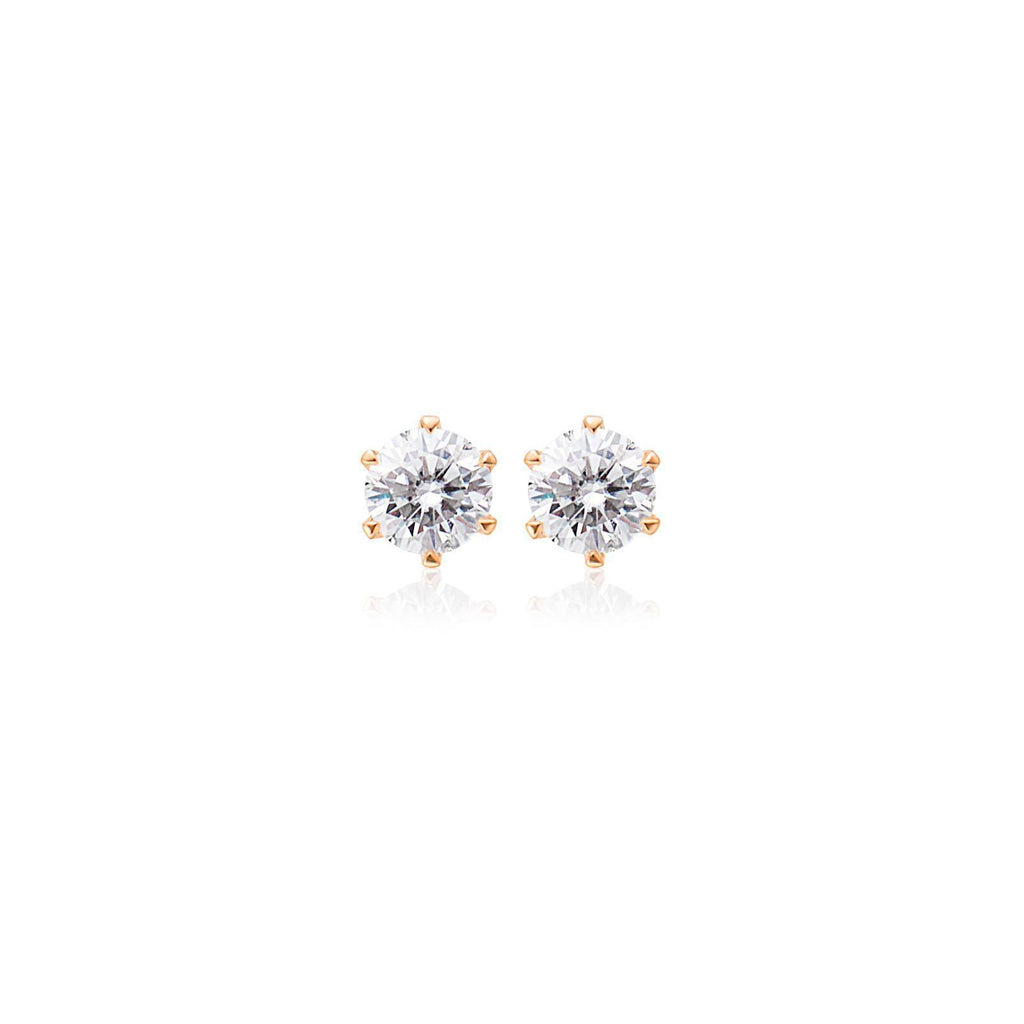 Small Moissanite Studs - GYPPHYピアス/カフ