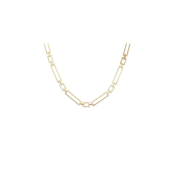 square chain necklace - GYPPHYネックレス