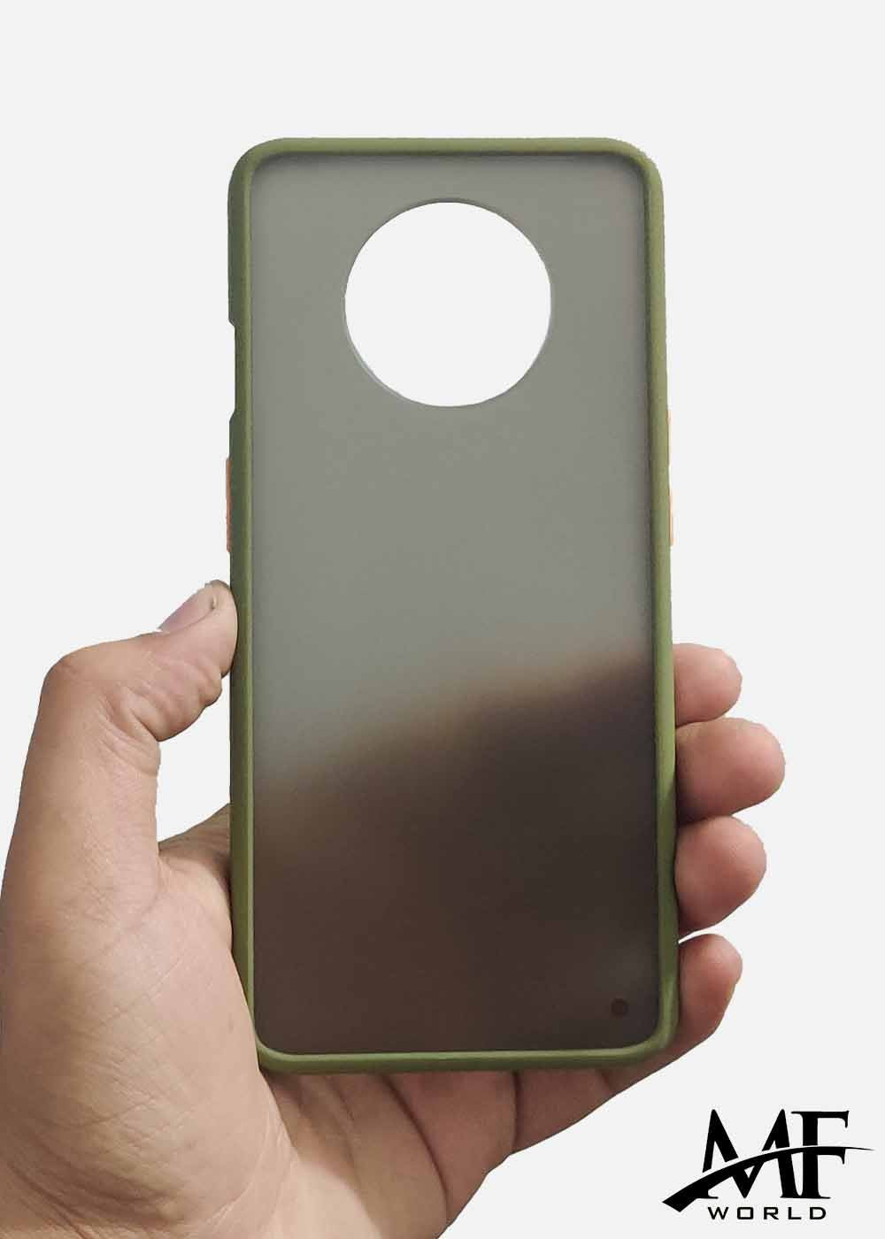 Green Smoke Silicone Protection Case For OnePlus 7T