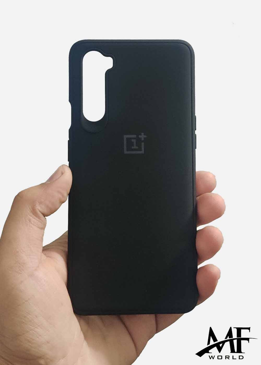 Black Ultrasoft Silicone Case For OnePlus Nord