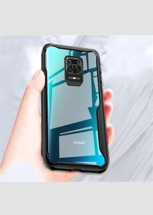 Shockproof Transparent Protection Silicone Case For Redmi Note 9 Pro