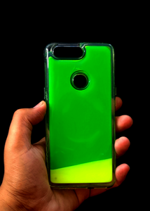 Green Glow In the Dark Silicone Case For OnePlus 5T