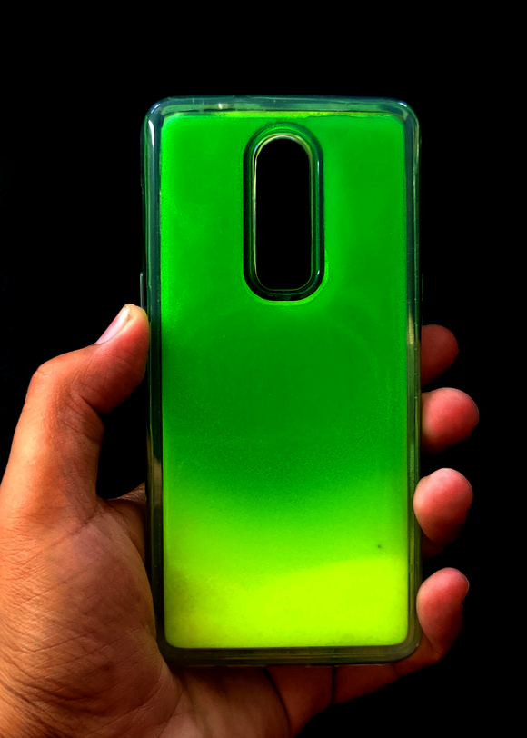 Green Glow In the Dark Silicone Case For OnePlus 6