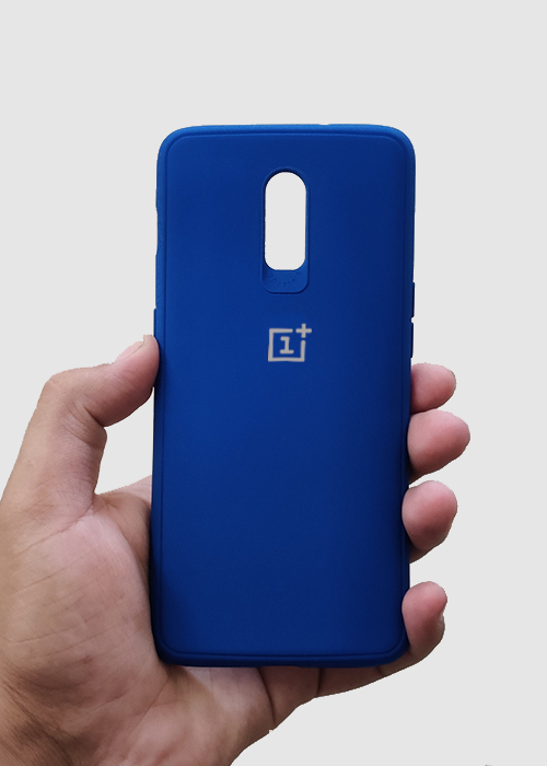 Dark Blue Ultrasoft Silicone Case For OnePlus 7