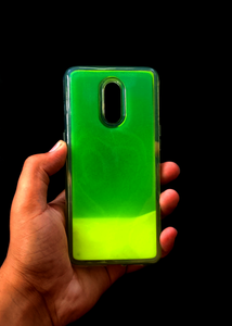 Green Glow In the Dark Silicone Case For OnePlus 6T
