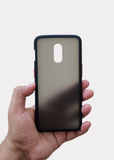 Black Smoke Silicone Protection Case For OnePlus 7