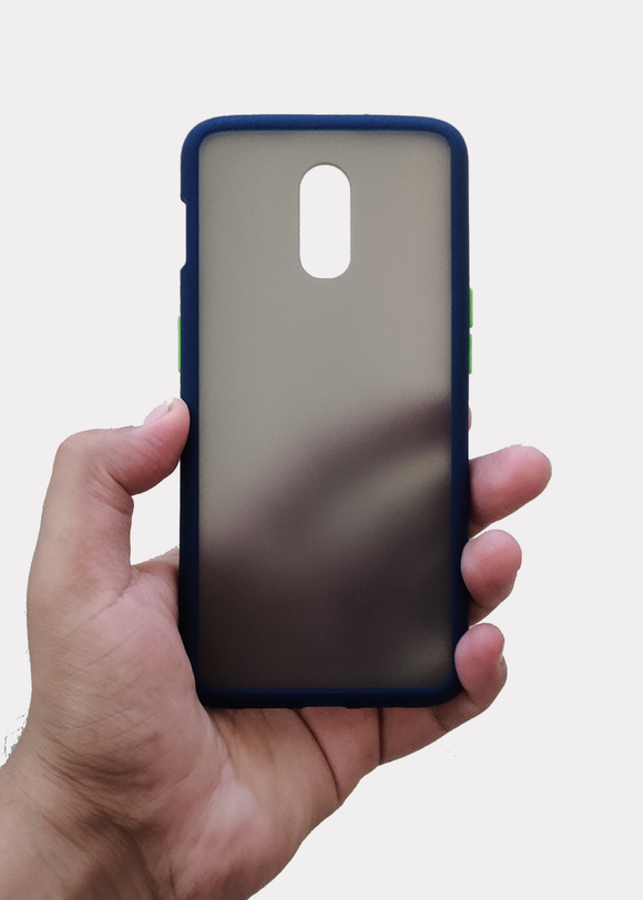 Blue Smoke Silicone Protection Case For OnePlus 6T