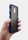 Blue Smoke Silicone Protection Case For OnePlus 7