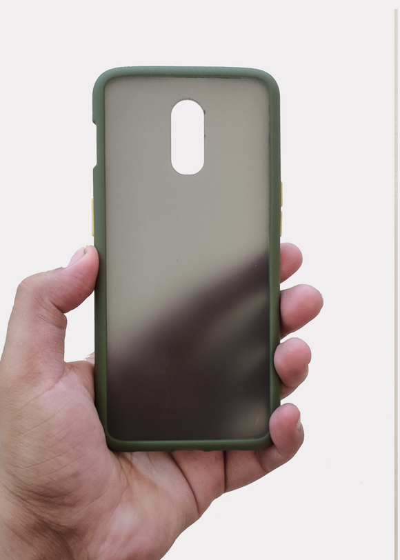 Green Smoke Silicone Protection Case For OnePlus 7
