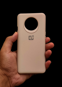 Peach Ultrasoft Silicone Case For OnePlus 7T