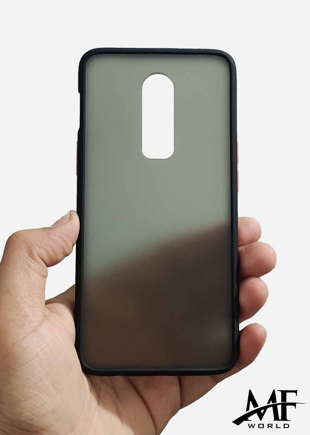 Black Smoke Silicone Protection Case For OnePlus 6