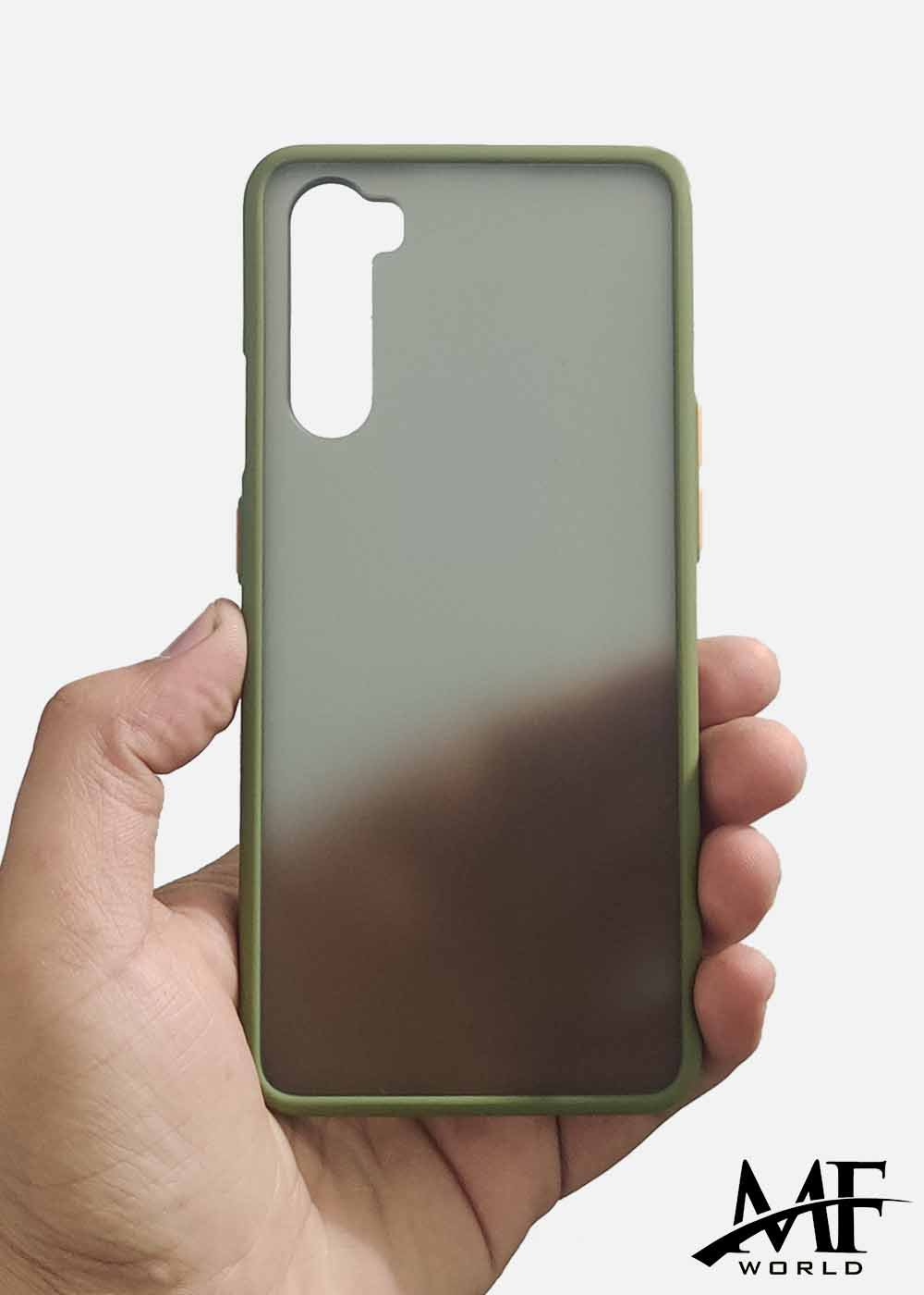 Green Smoke Silicone Protection Case For OnePlus Nord
