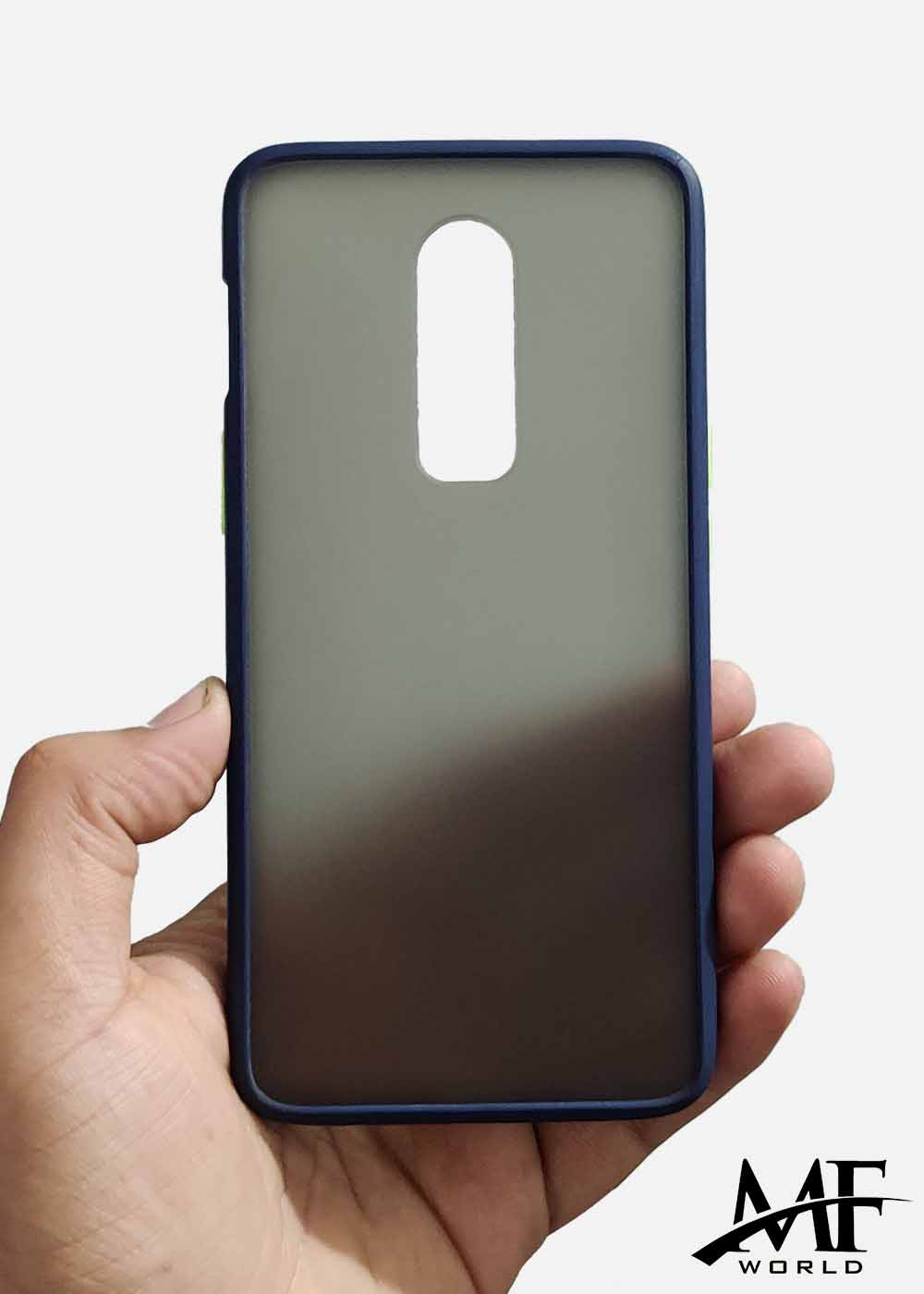Blue Smoke Silicon Protection Case For OnePlus 6