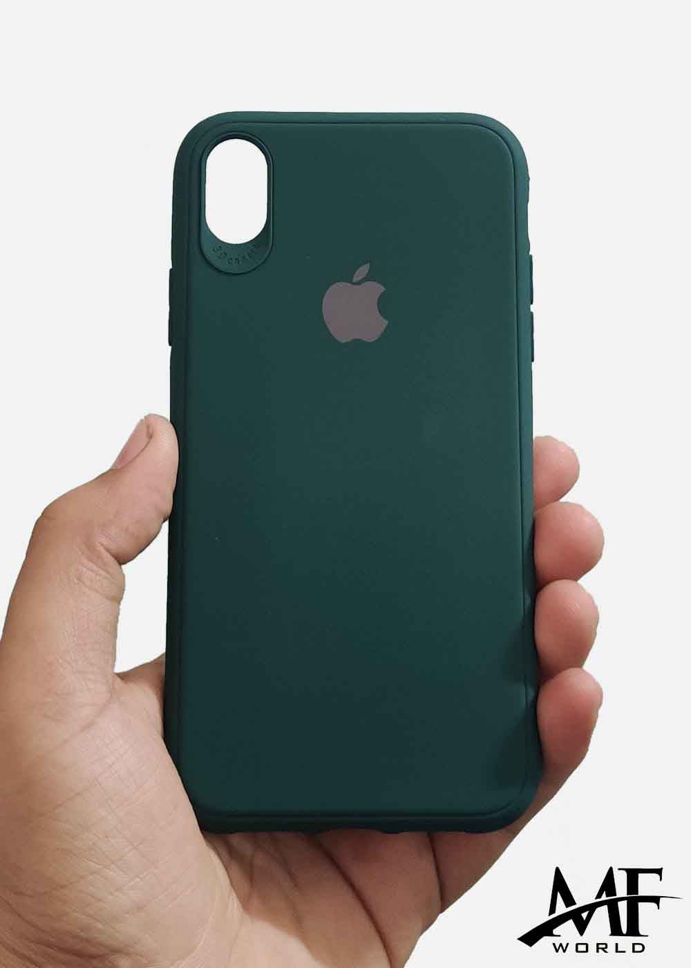 Dark Green Ultrasoft Silicone Case For Iphone XR
