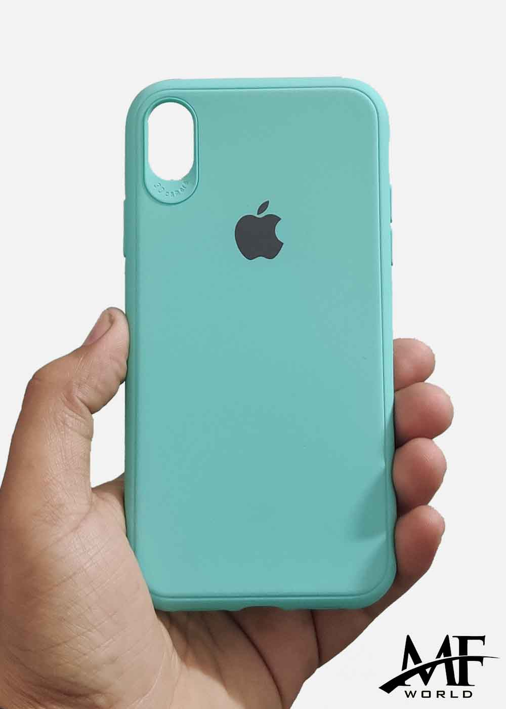 Aqua Blue Ultrasoft Silicone Case For Apple Iphone XR