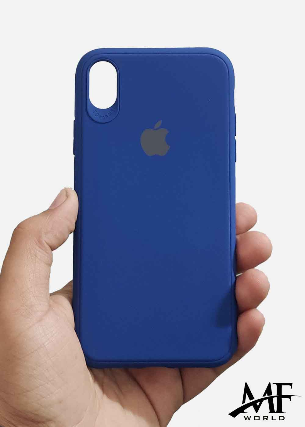 Dark Blue Ultrasoft Silicone Case For Apple Iphone XR