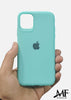 Aqua Blue Ultrasoft Silicone Case For Apple Iphone 11