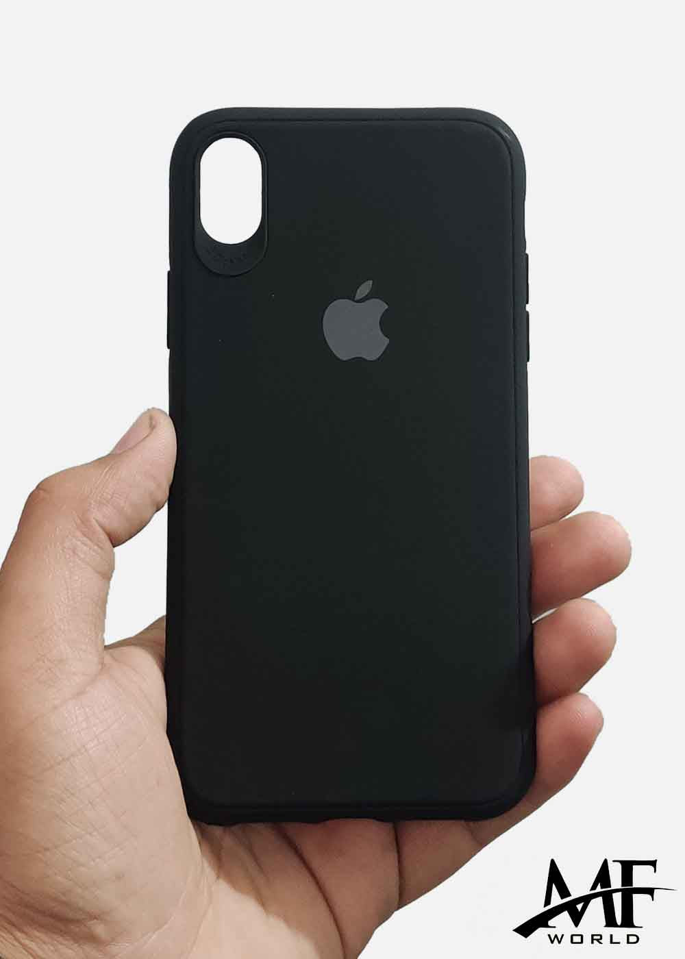 Black Ultrasoft Silicone Case For Iphone XR