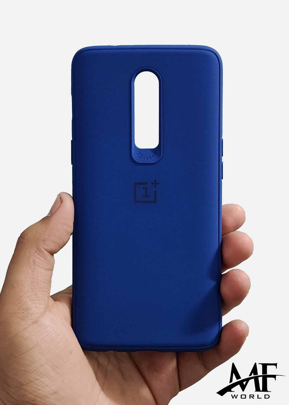 Dark Blue Ultrasoft Silicon Case For Oneplus 6