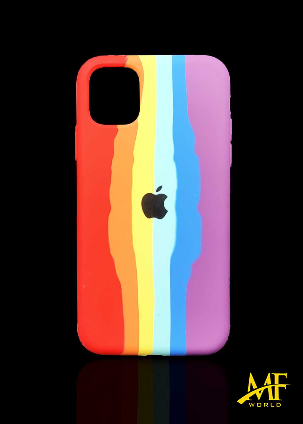 Rainbow Silicone Case For Apple Iphone 11