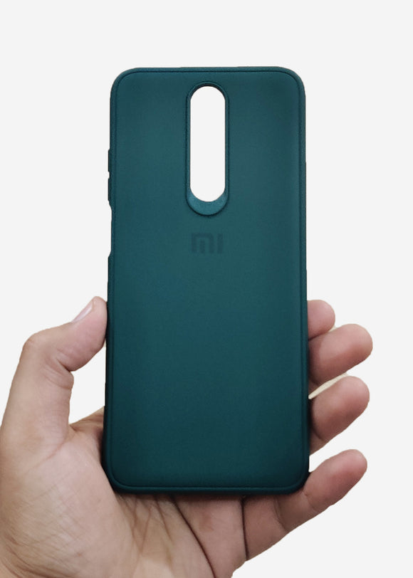 Dark Green Ultrasoft Silicone Case For Poco X2