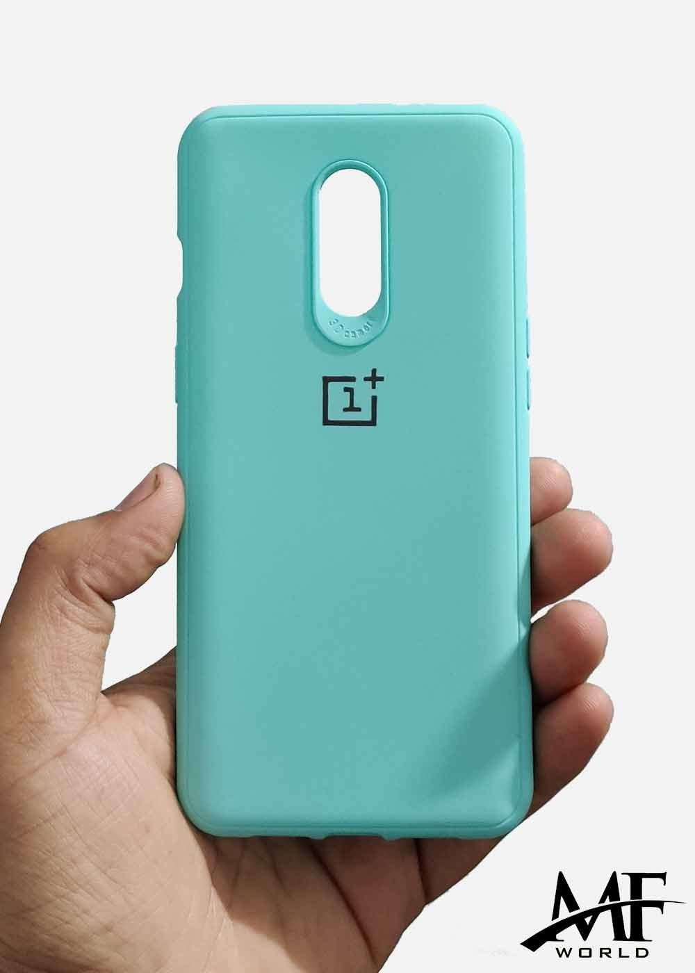 Aqua Blue Ultrasoft Silicon Case For Oneplus 6T
