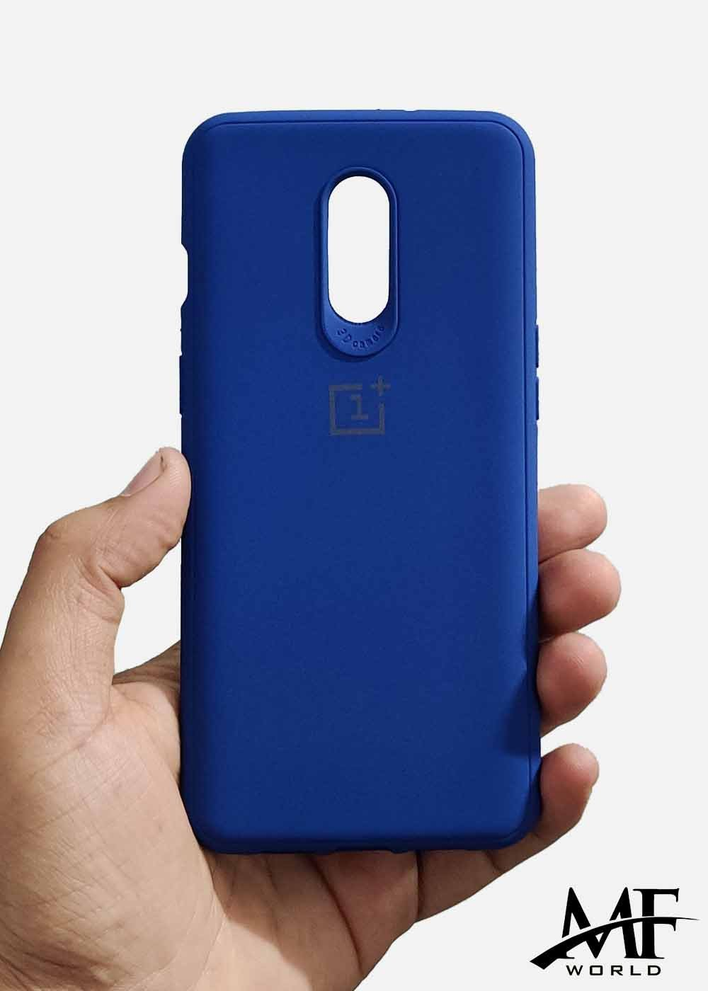 Dark Blue Ultrasoft Silicone Case For OnePlus 6T