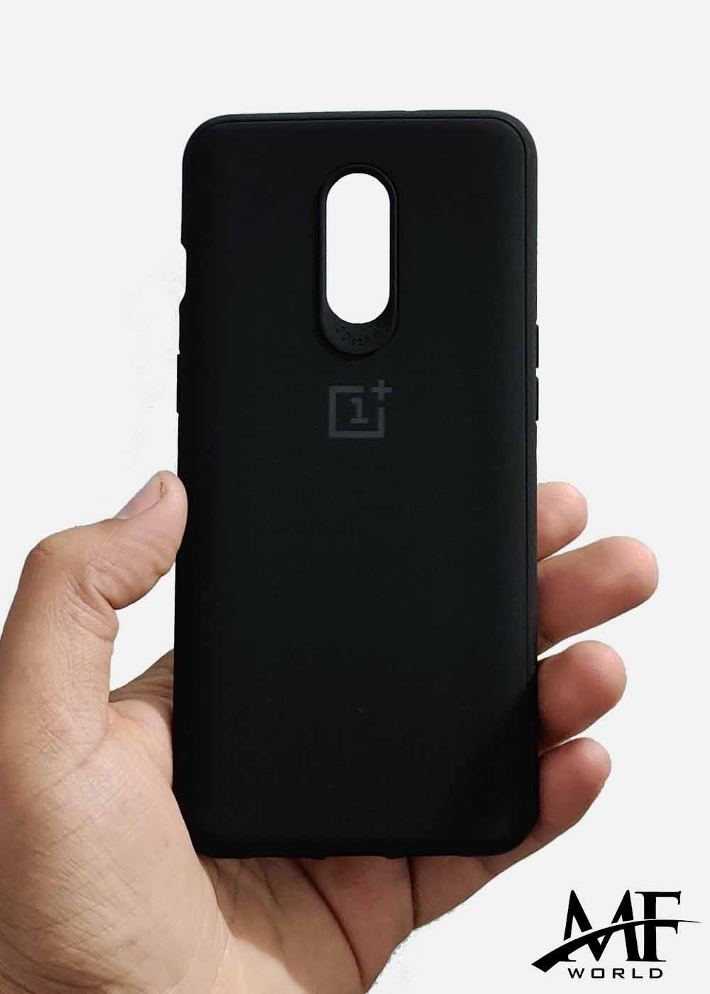 Black Ultrasoft Silicone Case For OnePlus 6T