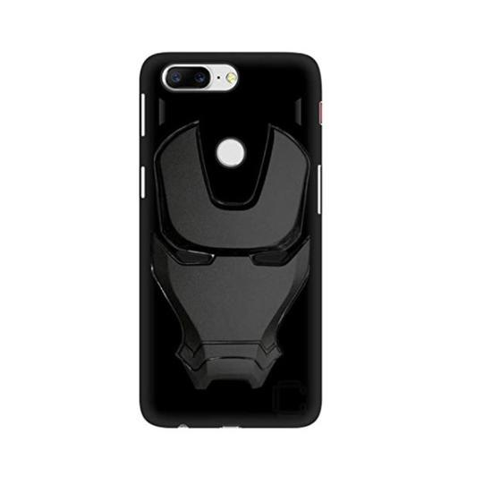Ironman Engraved logo silicon Case for Oneplus 5t