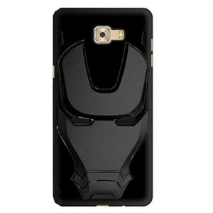 Ironman Engraved Silicone Case For Samsung J7 prime