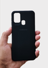 Black Ultrasoft Silicon Case For Samsung A21S
