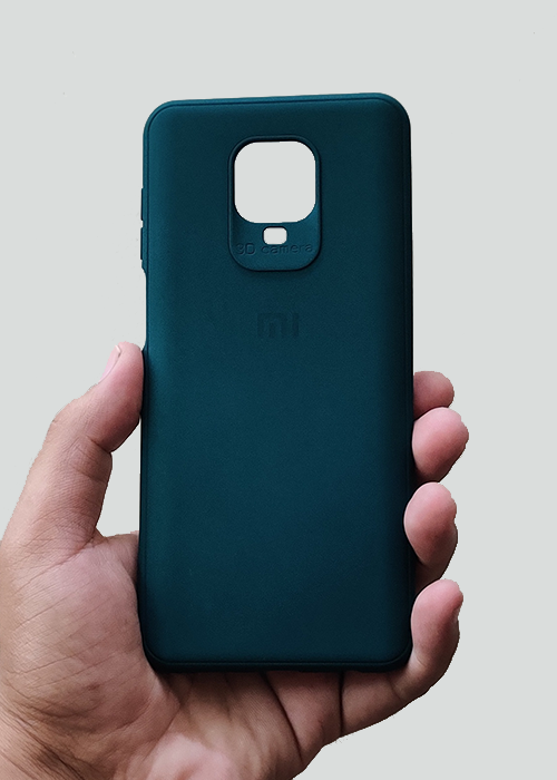 Dark Green Ultrasoft Silicon Case For Redmi Note 9 Pro