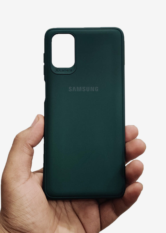 Dark Green Ultrasoft Silicon Case For Samsung M31s