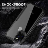 Shockproof Transparent Silicone Case for Apple iphone 11