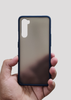Blue Smoke Silicone Protection Case For OnePlus Nord