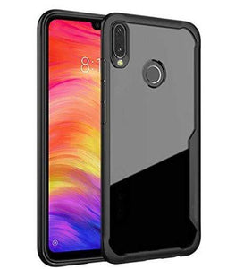 Shockproof silicone protective transparent Case Xiaomi Redmi note 7