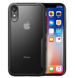 Shockproof transparent Silicone case for Apple iphone Xr